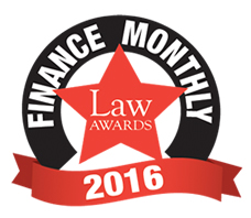 John E. Tyrrell is shortlisted for the 2016 Finance Monthly Law Award in Sports Law